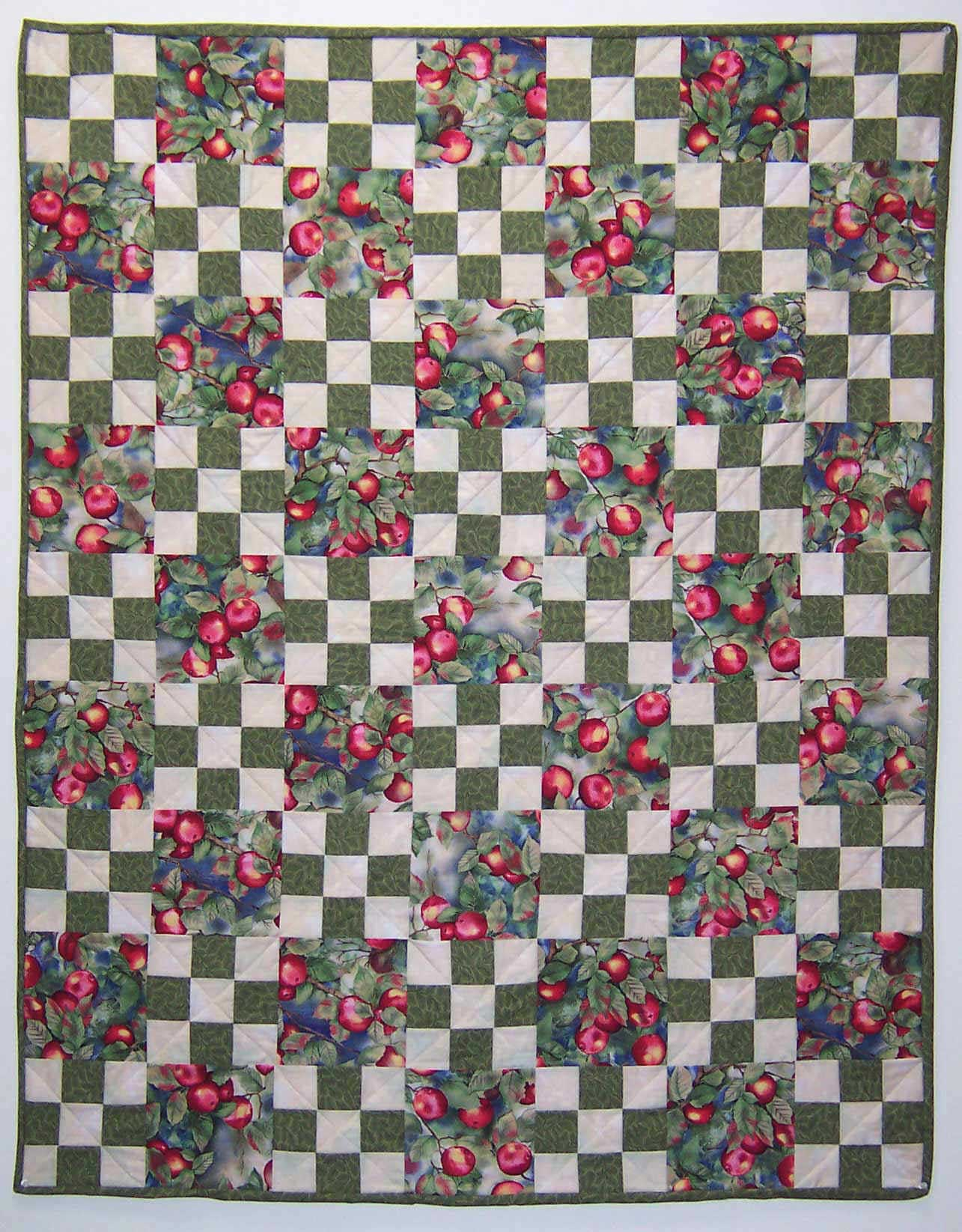 Double Nine-Patch Quilt Block Pattern - Quilting and Quilt Patterns